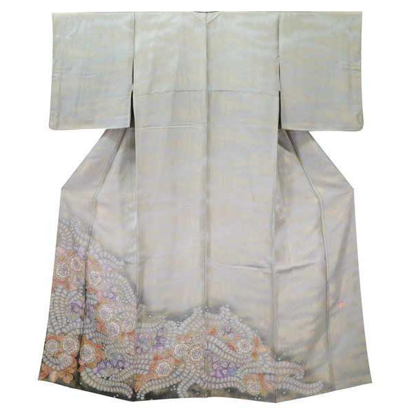 久保田一竹の辻が花の色留袖