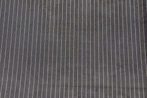 縞文様の琉球絣 夏着物