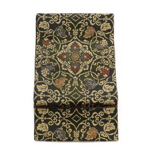 岡慶のモール織の袋帯