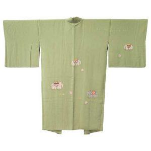京都・堀一の象文の羽織