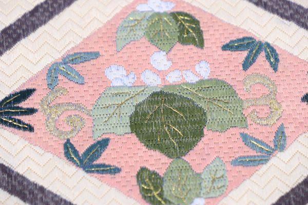 唐織の全通袋帯