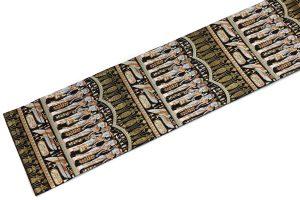 エジプト文様の袋帯