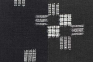 藤貫製の結城紬の名古屋帯