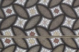 川島織物の菊菱文の袋帯