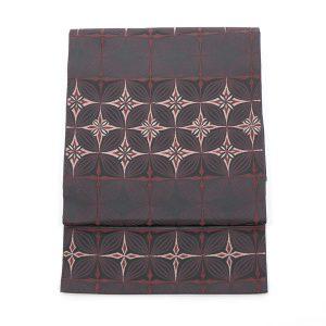 川島織物製の七宝繋ぎ文の袋帯