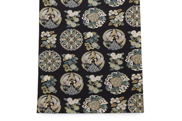 花井幸子の正倉院丸文の袋帯