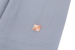 岩波文様の色留袖