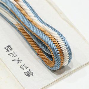 道明の奈良組の段筋の帯締